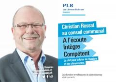 Elections communales 2021, une des 7 cartes postales PLR Vuadens, recto / FR