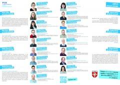 Elections communales 2021, dépliants PLR Vuadens, intérieur / FR