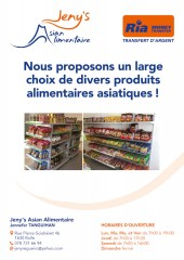 Jeny's Asian Alimentaire, Bulle / FR